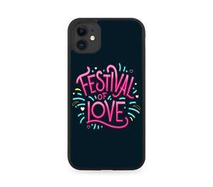 Festive Of Love Rubber Phone Case Cover Diwali Lights Gift Present J577