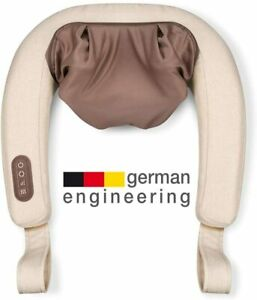 New Beurer MG153 4D Massager Heat Function Simulates Relaxing Kneading Shiatsu