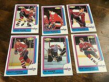 1986-87   O-Pee-Chee  WASHINGTON CAPITALS  11  card team set/lot