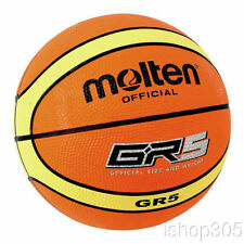 """Molten GR5 FIBA Approved Rubber Outdoor Youth Basketball Size 5 (27.5"""")"""