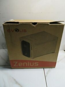 NEW Evolis Zenius Expert Single Side Fire Red Complete Photo ID Card Printer