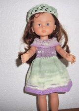 vêtements pour poupée chérie corolle 30 33 cm ou paola  robe bandeau NEUF
