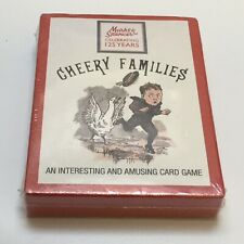 ⭐️ A FAB 'CHEERY FAMILIES' M & S CARD GAME SEALED!