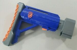 NERF N-Strike RAIDER CS-35 Collapsable Tactical Shoulder Stock Attachment Blue