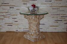 Blumen Säule Säulen Marmor Beistelltisch Telefontisch Blumenständer Nachttisch
