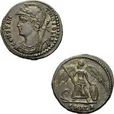 Constantin I Follis Alexandria 333-335 CONSTANTINOPOLIS Prora Zepter RIC 64 - R1