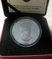 2011 Proof $15 Continuity Crown-Prince Henry (Harry) of Wales UHR Canada silver