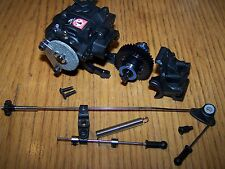 Traxxas 3.3 Jato Transmission & Linkage w/ Rear Differential & Brake Kit Diff