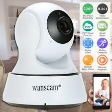 Wanscam HD 720P Wireless WiFi IP Camera Pan/Tilt Night Vision Surveillance Y4H0