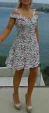 VINTAGE Feminine 1980s Original Garden Party Swing Dress