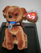 Ty Beanie Baby - DR. JACK the Helping Dog NEW