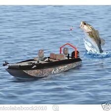 Remote Control Water Craft Fishing Boat Telescope Grapple W/ Rigs Bobber & Line