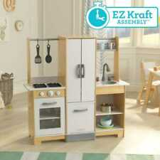 Kidkraft Modern-Day Play Kitchen with EZ Kraft Assembly™ | Wooden Toy Kitchen