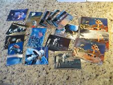 *16* 1960s 3D Space Moon Landing Lenticular Postcards incl 2-Thick 1969 Interpex