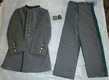 Confédéré ITPT ACW veste brigade irlandaise & accessoire jouet de pantalons échelle 1/6ème
