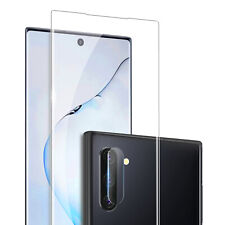 For Samsung Galaxy Note 10+ Plus 5G Full Tempered Glass Screen Protector Film US