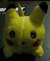 Vintage Pokemon Pikachu SQUEAKY Squeak Squeaking Plush Stuffed Toy Nintendo Tomy