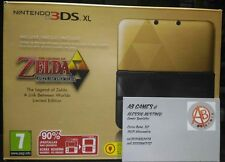 CONSOLE NINTENDO 3DS XL THE LEGEND OF ZELDA A LINK BETWEEN WORLDS LIMITED ED.