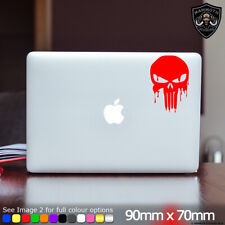 Punisher Laptop Sticker Punisher Logo Bloody Red Skull Fits Apple MacBook 13""