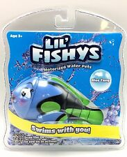 Lil' Fishys Motorized Water Pets Blue Tang  Swims With You! New in Package