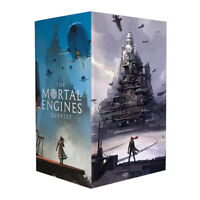 Mortal Engines Quartet series 4 Books Collection Box Set Philip Reeve Brand New