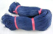 Azul Oscuro Cordón De Algodón Encerado 10 M x 1 mm Shamballa Macramé fabricación de joyas