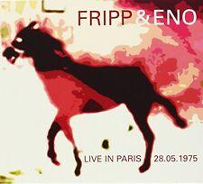 Robert Fripp & Brian - Live in Paris May 28, 1975 [New CD]