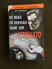 Mexican Vintage PB by Jim Thompson, Nothing More Than Murder, 1958