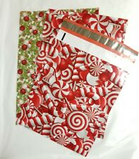 (25) 10x13 Designer Christmas Mailers Poly Shipping Envelopes Boutique mix Bags