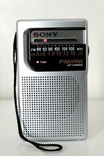 Sony ICF-S10MK2 FM/AM 2 Band Pocket Radio
