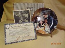 Gone with the Wind * Scarlett & Rhett's Honeymoon * 1990 * Plate #14714A * MINT