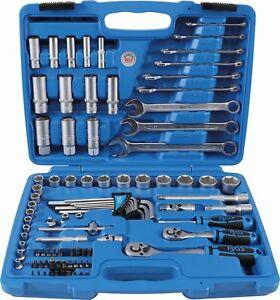 Bgs 2289 Maletin herramientas con carraca y llaves para motos 92 piezas