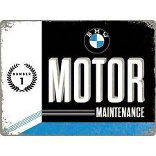 BMW Motor Maintenance Classic Car Motorbike Garage  Large 3D Metal Embossed Sign