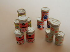 (F1-25) DOLLS HOUSE 12 X MINI CANS OF BEER