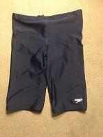 Men's Speedo Jammers Racing Swimsuit Compression Shorts 32