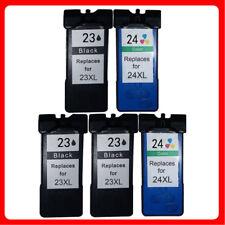 5 Ink Cartridge For Lexmark NO.23XL 24XL X3500 X3530 X3550 X4500 X4530 X3430