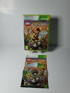 Lego Indiana Jones 2 Xbox 360 UK PAL (Classics) **PLAYABLE ON XBOX ONE**