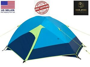 Ozark Trail 2-Person Backpacking Tent, Made with Recycled Polyester Fabric, Blue
