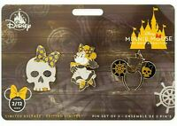 Disney Minnie Mouse Main Attraction Pirates Of The Caribbean Pin Set February 2