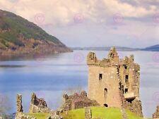 Photographie Landmark Château Urquhart Loch Ness Scotland art print poster MP3476A
