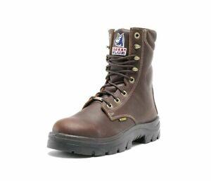 Steel Blue 100% Comfort Men's Portland Boot, Oak