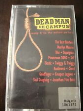 Dead Man On Campus - Soundtrack - AUDIO CASSETTE, Sealed, Marilyn Manson, Blur