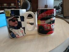 Dale Earnhardt and Dale Jr large mugs