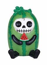 Furrybones Suika Signature Skeleton in Watermelon on a Vine Costume Figurine