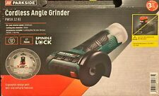 Parkside Cordless Angle Cutoff Grinder Pwsa 12-B1