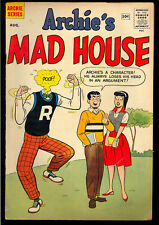 Archie's Madhouse #7 Nice Silver Age Teen Humor Comic 1960 VG