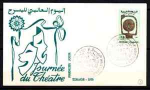 MOROCCO 1969 - FDC THEATER DAY