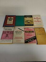 Lot Of 8 Vintage Sleaze GGA Paperback Books Pulp Erotica Rare OOP Pendulum