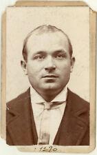 Photo Bertillon identification Policière Police Mug Shot Usa 1877