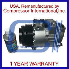1996-2008 Mercedes-Benz,Chrysler,Dodge Reman A/C Compressor By CI